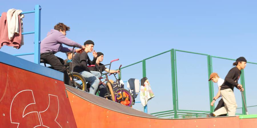 Новый скейт-парк появился в Алматы