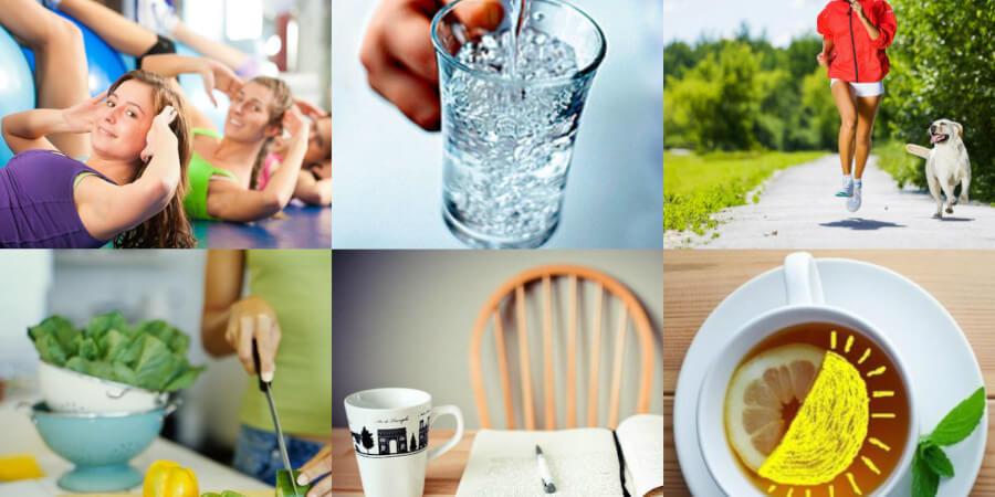 Правильный образ жизни: Здоровые привычки