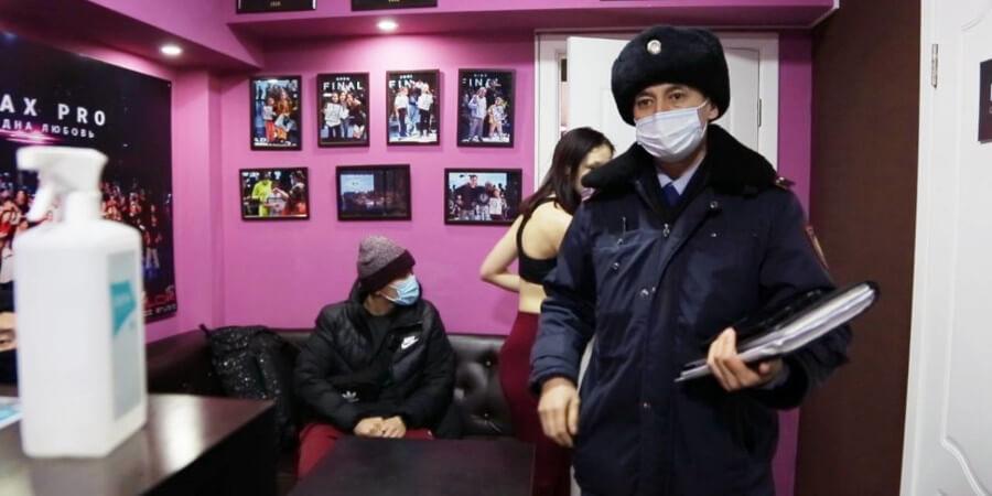 Порядка 300 человек вывели из ночных заведений Алматы мониторинговые группы
