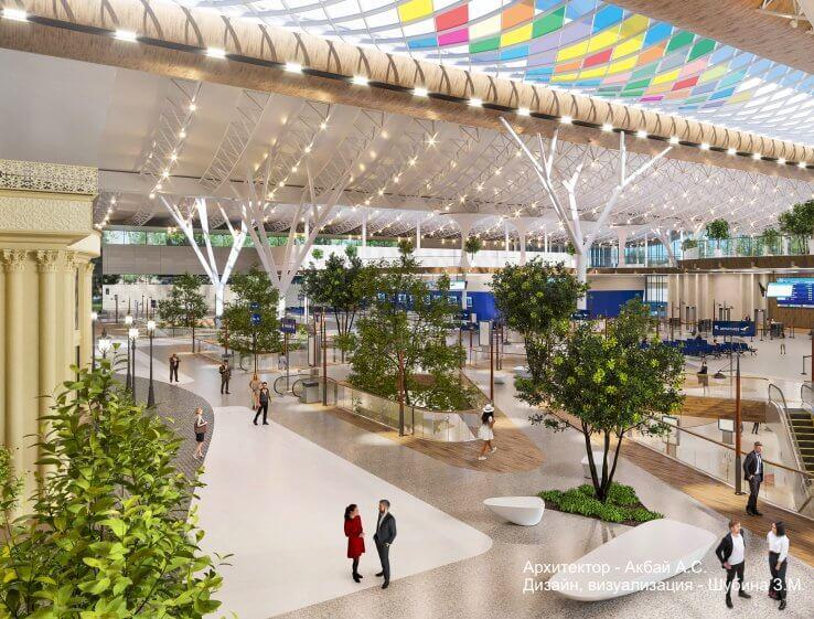 Как будет выглядеть аэропорт Алматы